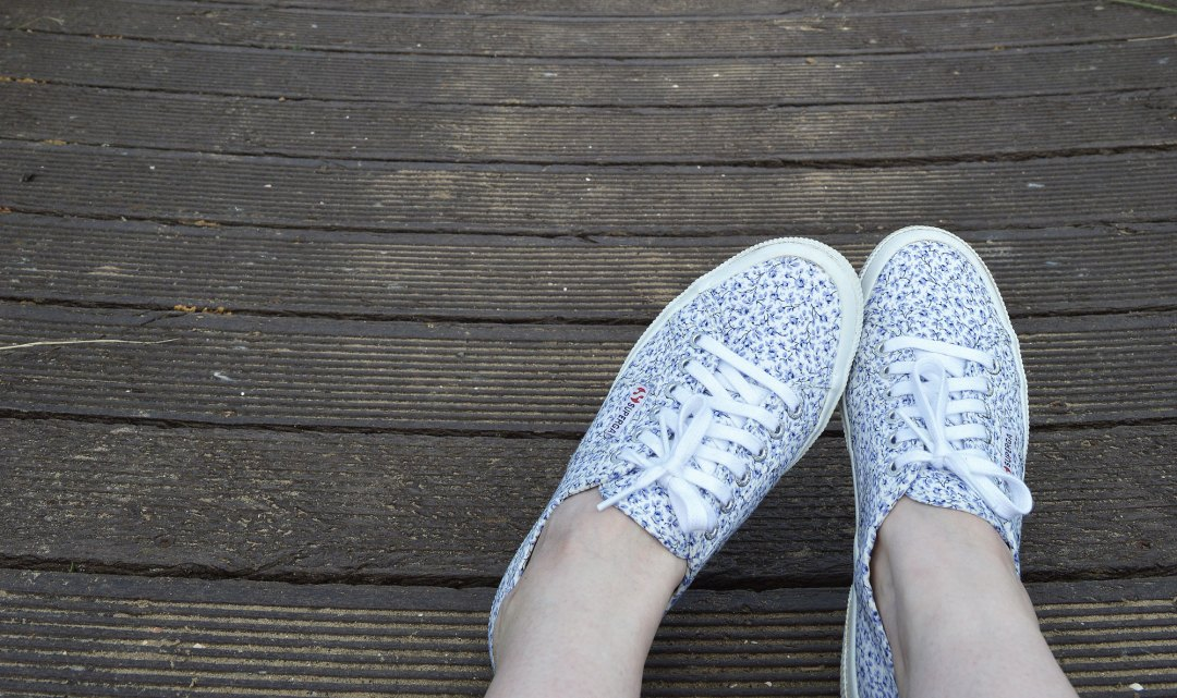 Liberty Superga Trainers | Hannah in the house