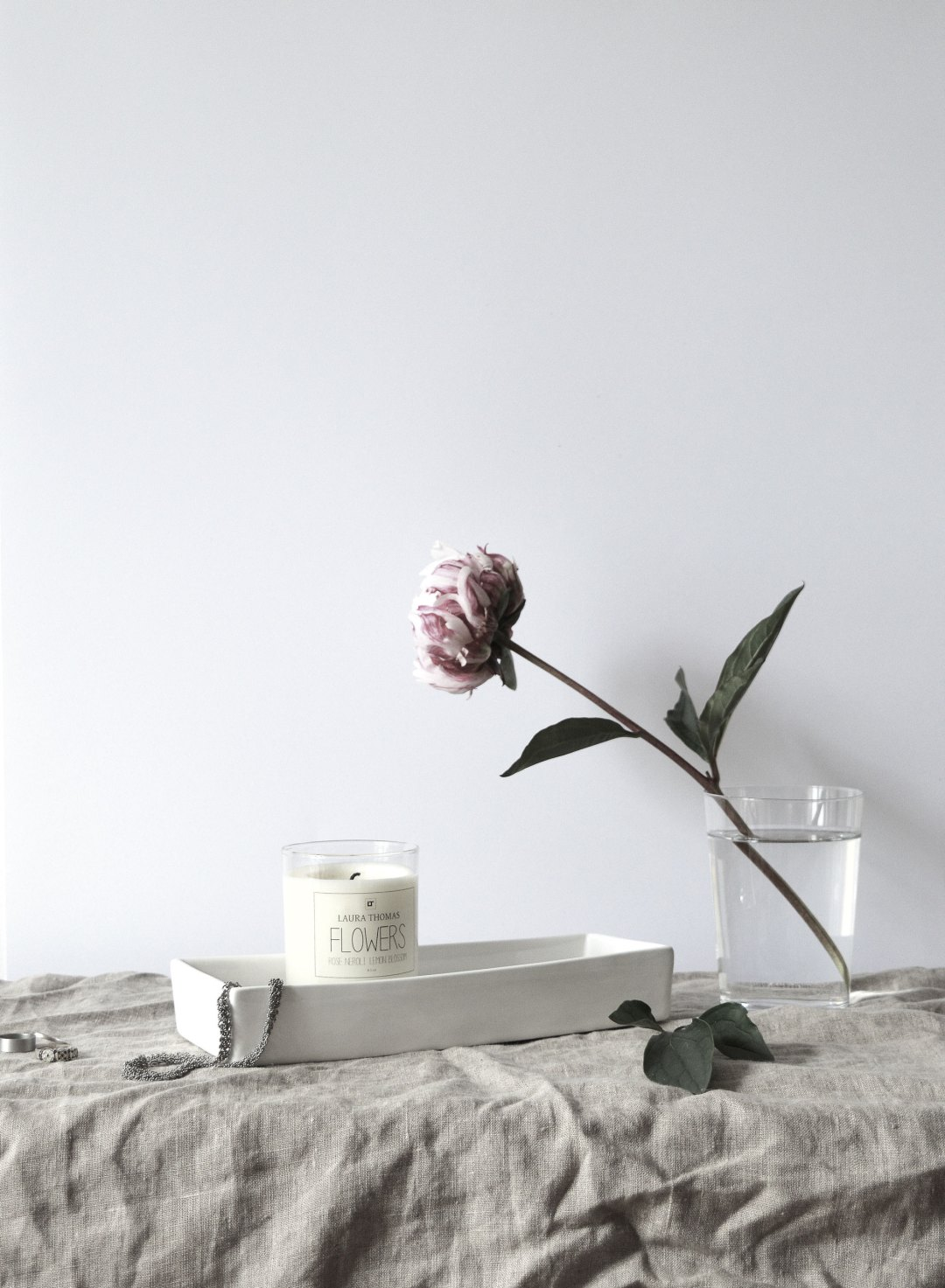 Romantic candle styling | Hannah in the house
