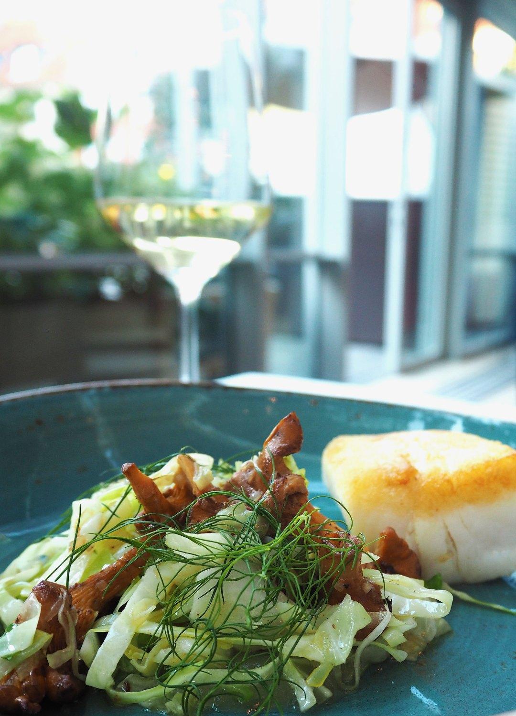 Central Kitchen Copenhagen - Cod - Chanterelle - Apple