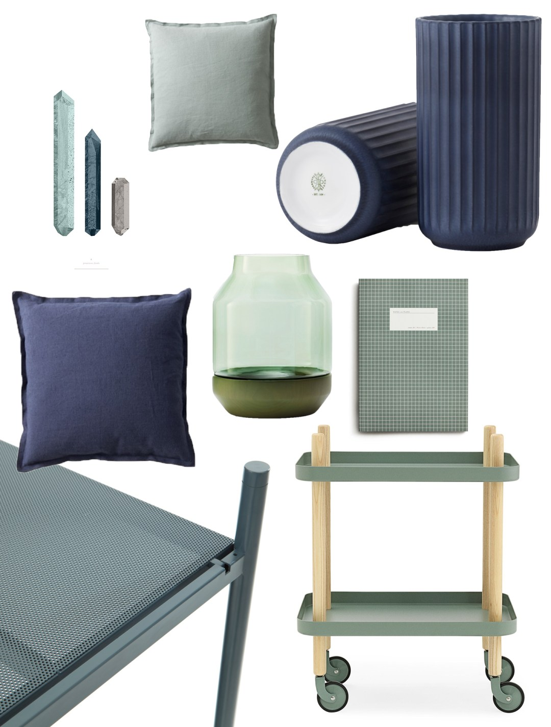 Blue + Green interiors colour trend- Hannah in the house