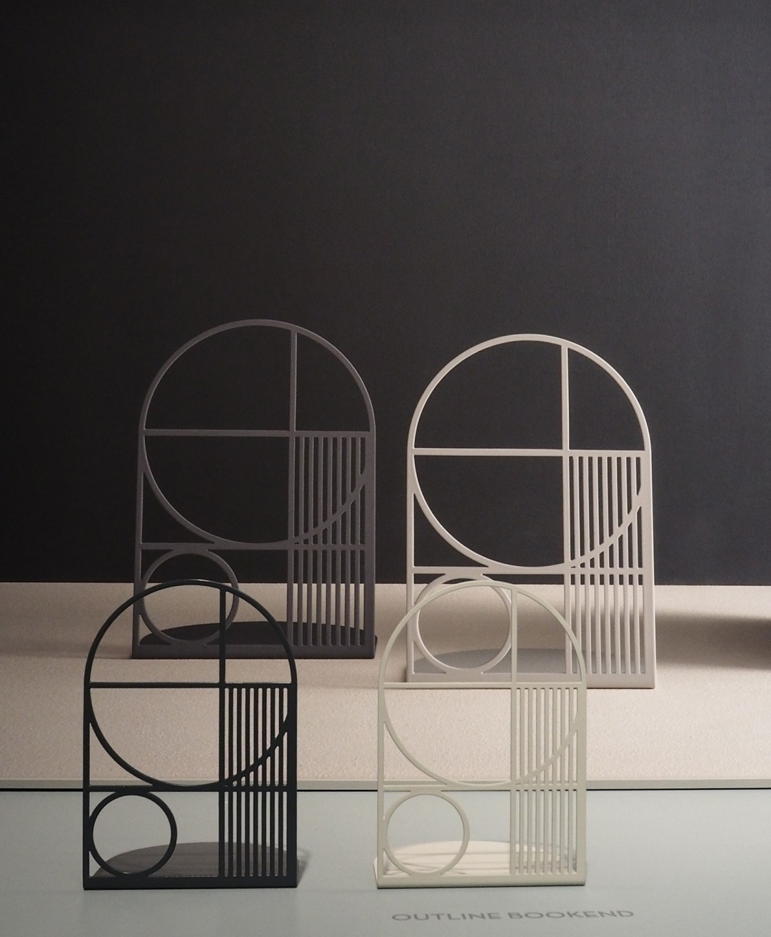 Ferm Living - Outline Bookends