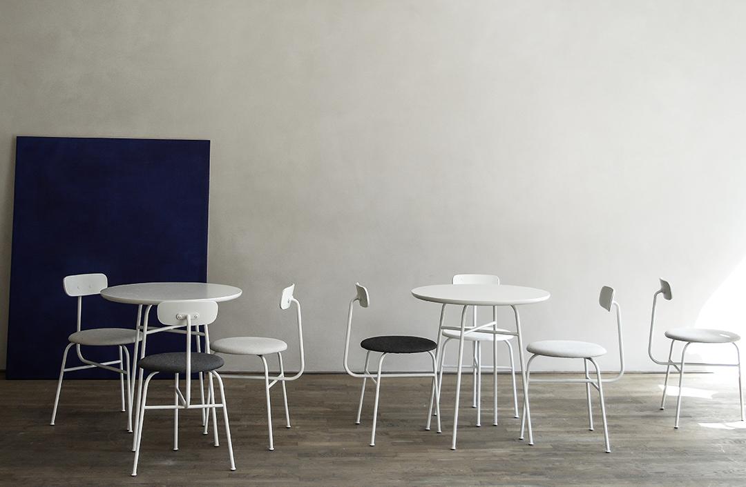 Kinfolk Gallery, norm architects, copenhagen, danish design, menu seating, kabe