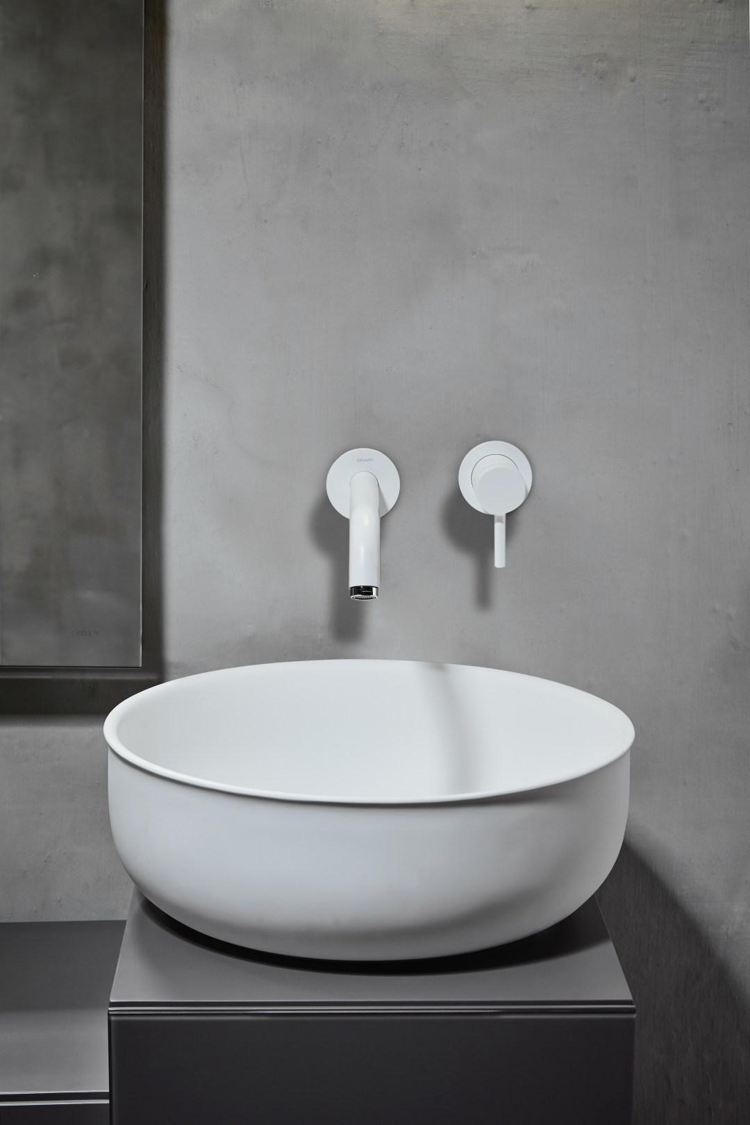 A minimalist bathroom range- designed by Norm Architects