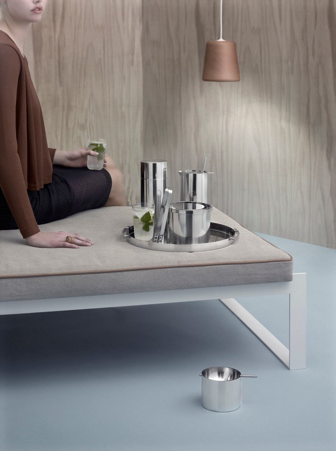 Modern classic Cylinda-line cocktail range by Arne Jacobsen