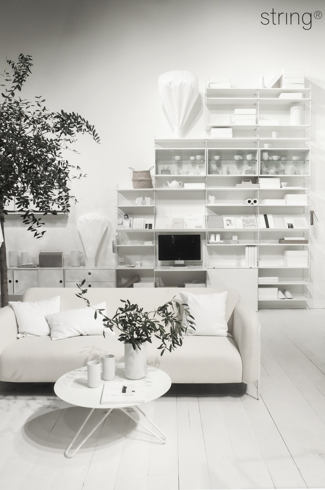 String furniture, Styled by Lotta Agaton