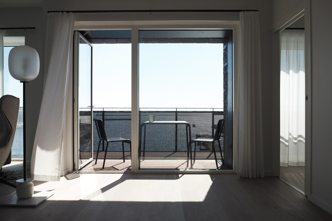 Sea View at Stay Seaport Copenhagen, design hotel, design apartment.