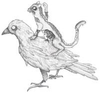 Zombie Raven, Zombie Ferret