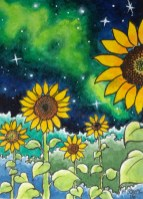 Night Sunflowers