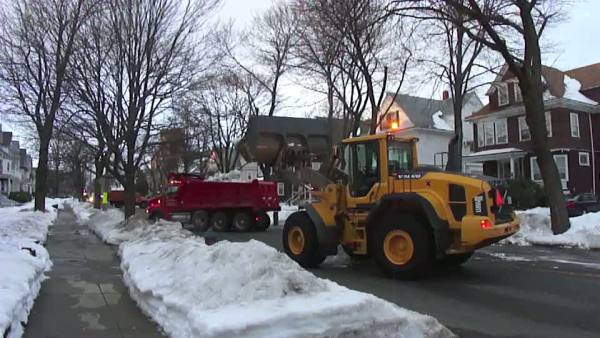 snow removal in Somerville