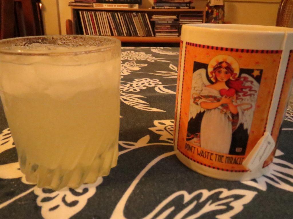 margarita, tea