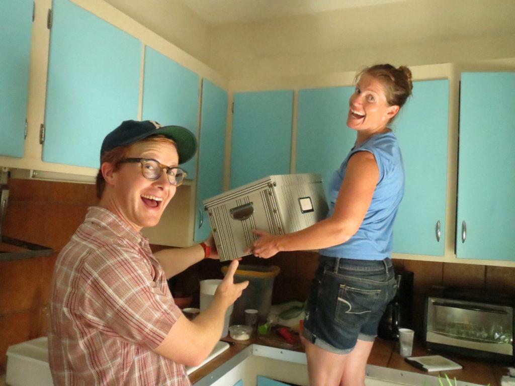 Andrew & Heather help