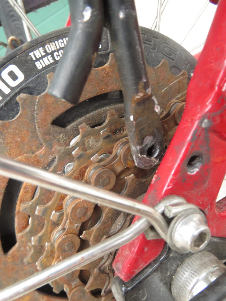 scraping the chain (and yes, I need a new chain)