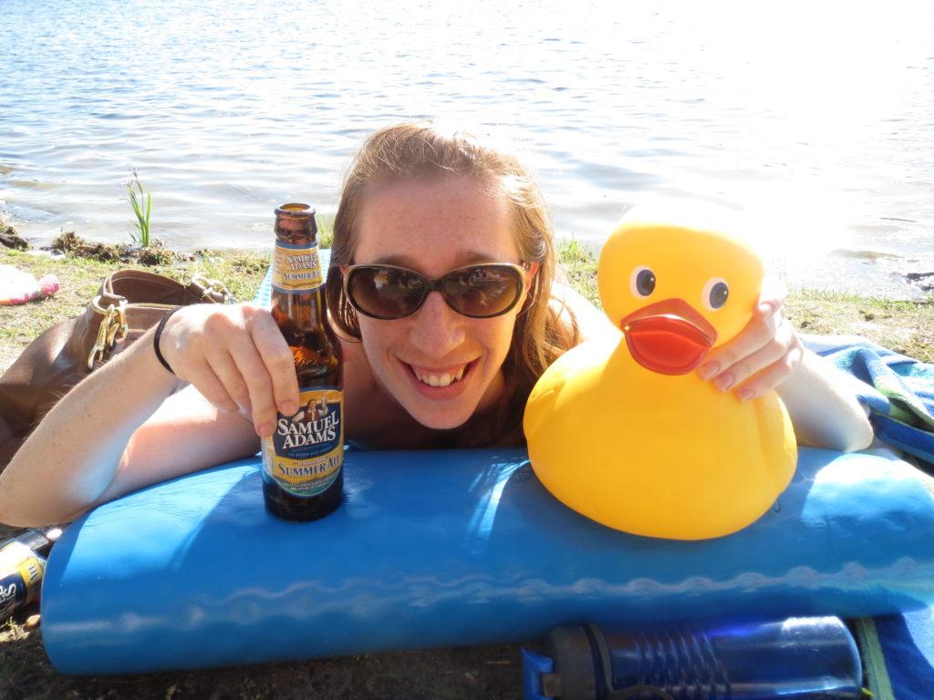 Lindsay + duck