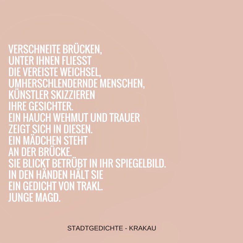 Krakau – Gedicht #4
