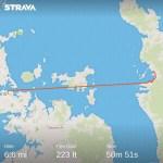 Coromandel to Auckland (bike & ferry)