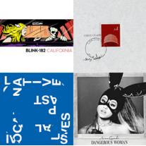 Blink-182, Skepta, Local Natives, Ariana Grande