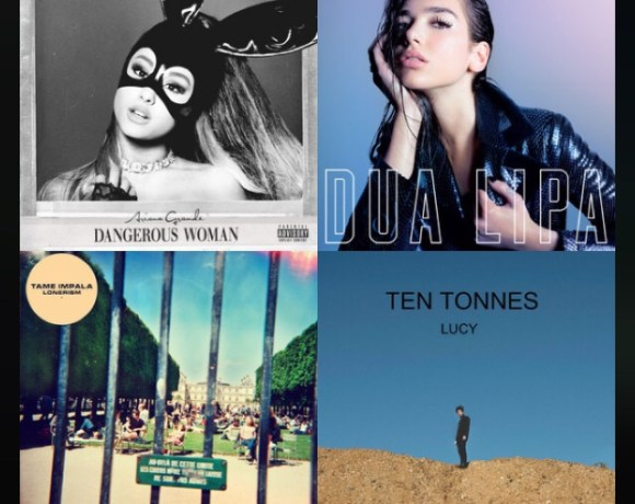Monthly music picks of Ariana Grande, Dupa Lipa, Tame Impala and Ten Tonnes