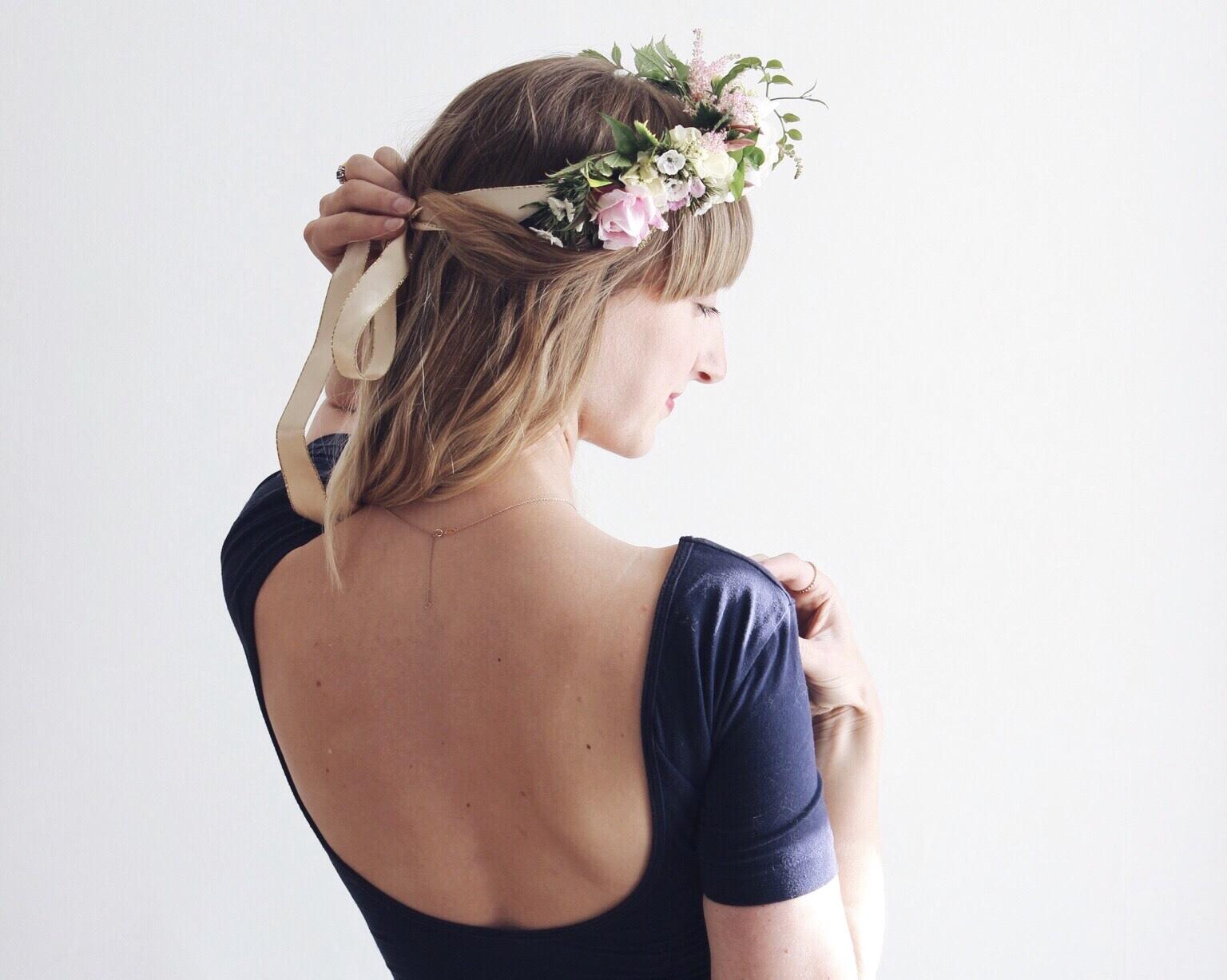How to make your own floral crown izmirmasajfo