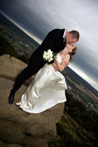 Helen & Ben at the Chevin Country Park Hotel & Spa