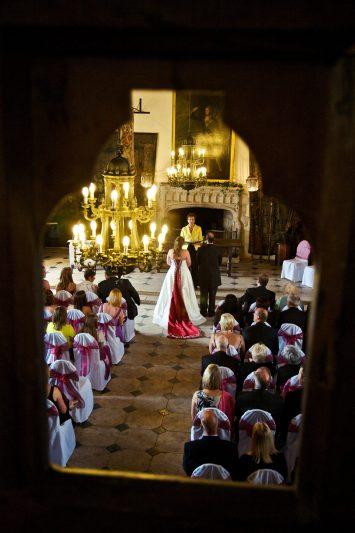 Castle wedding photographer