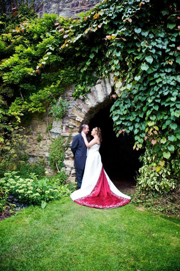 Berkeley Castle wedding photography