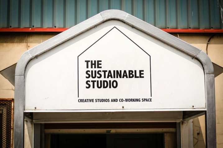 Sustainable Studio signage