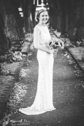 Bridal portrait full length