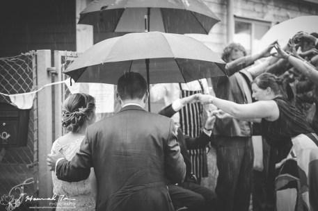 Bride & Groom arrival to reception