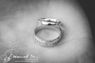 Wedding rings engraved
