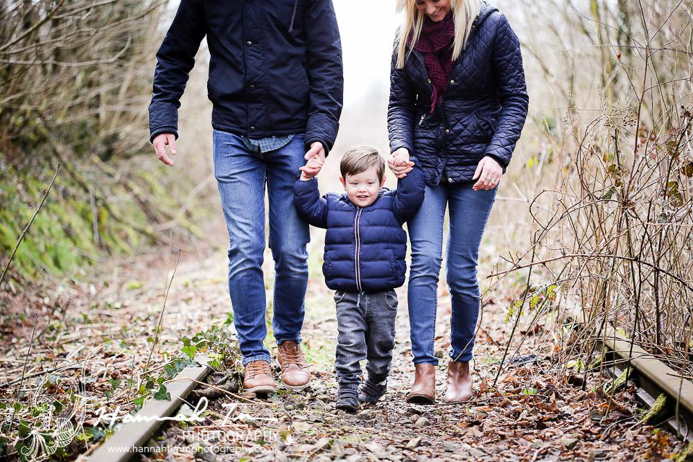 Family photos Bridgend