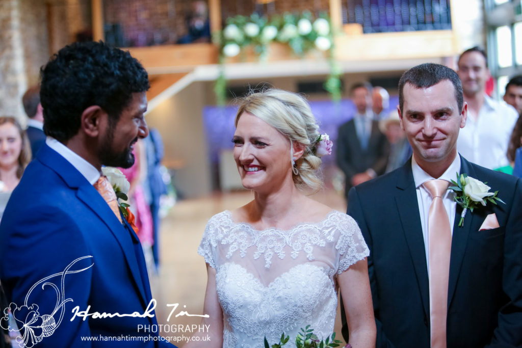 wedding photographer Tythe Barn
