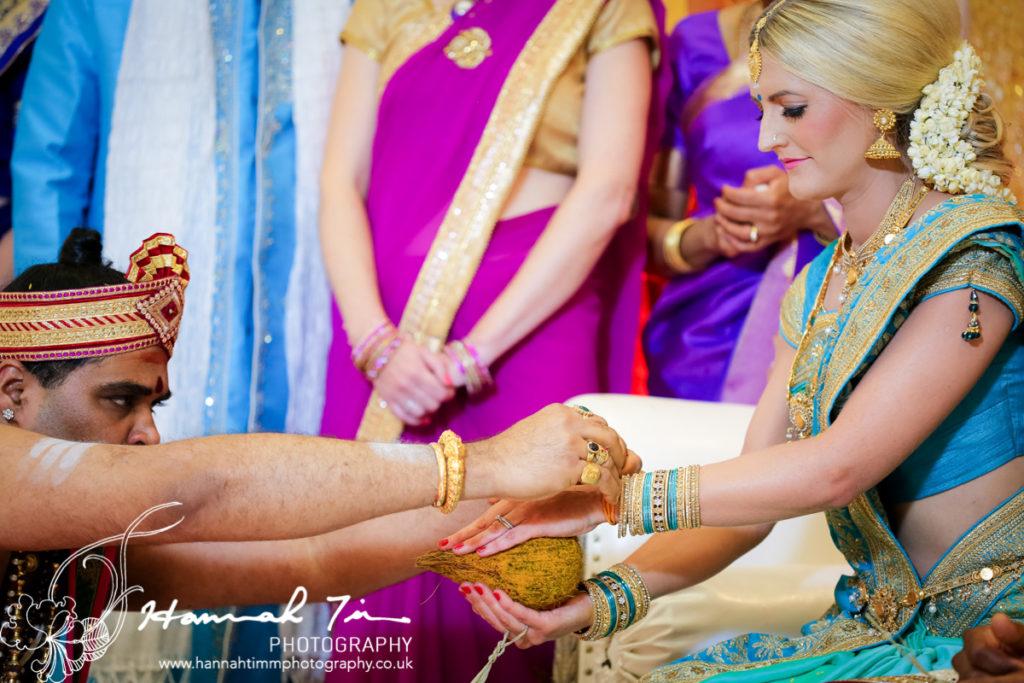 Religious hindu ceremony