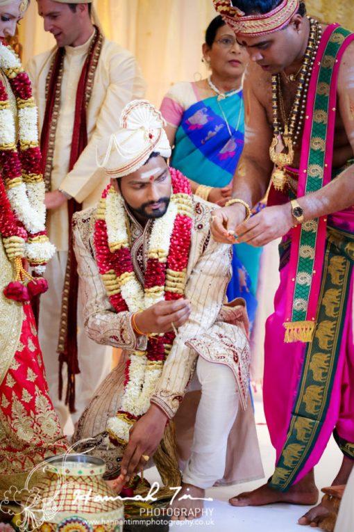 toe rings Hindu wedding photography