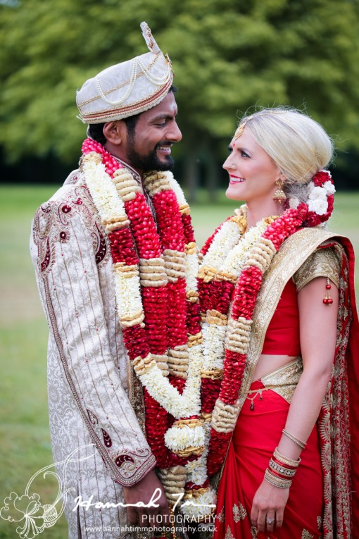 Asian Bride and Groom