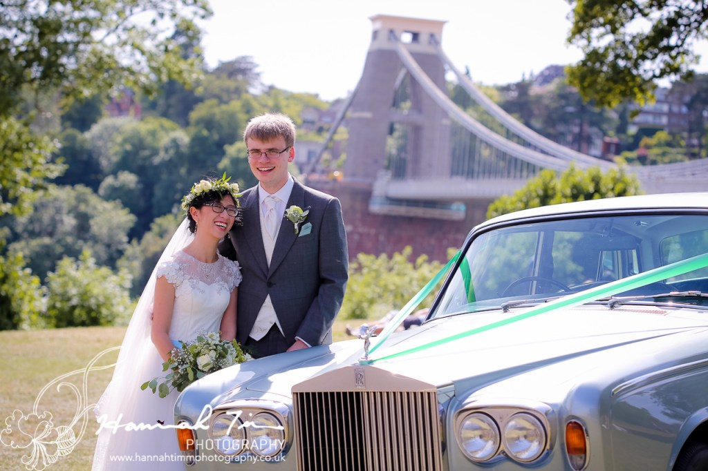 wedding photography Clifton suspension bridge