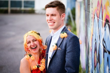 colourful wedding photographer