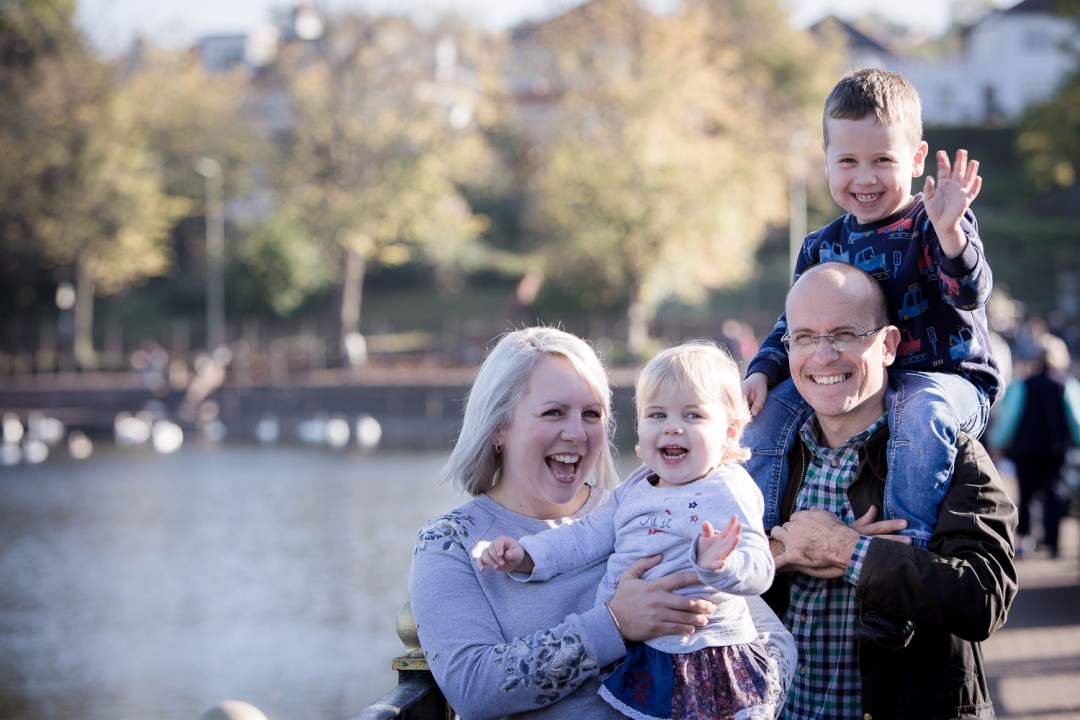 relaxed family portraits - hannah timm photography