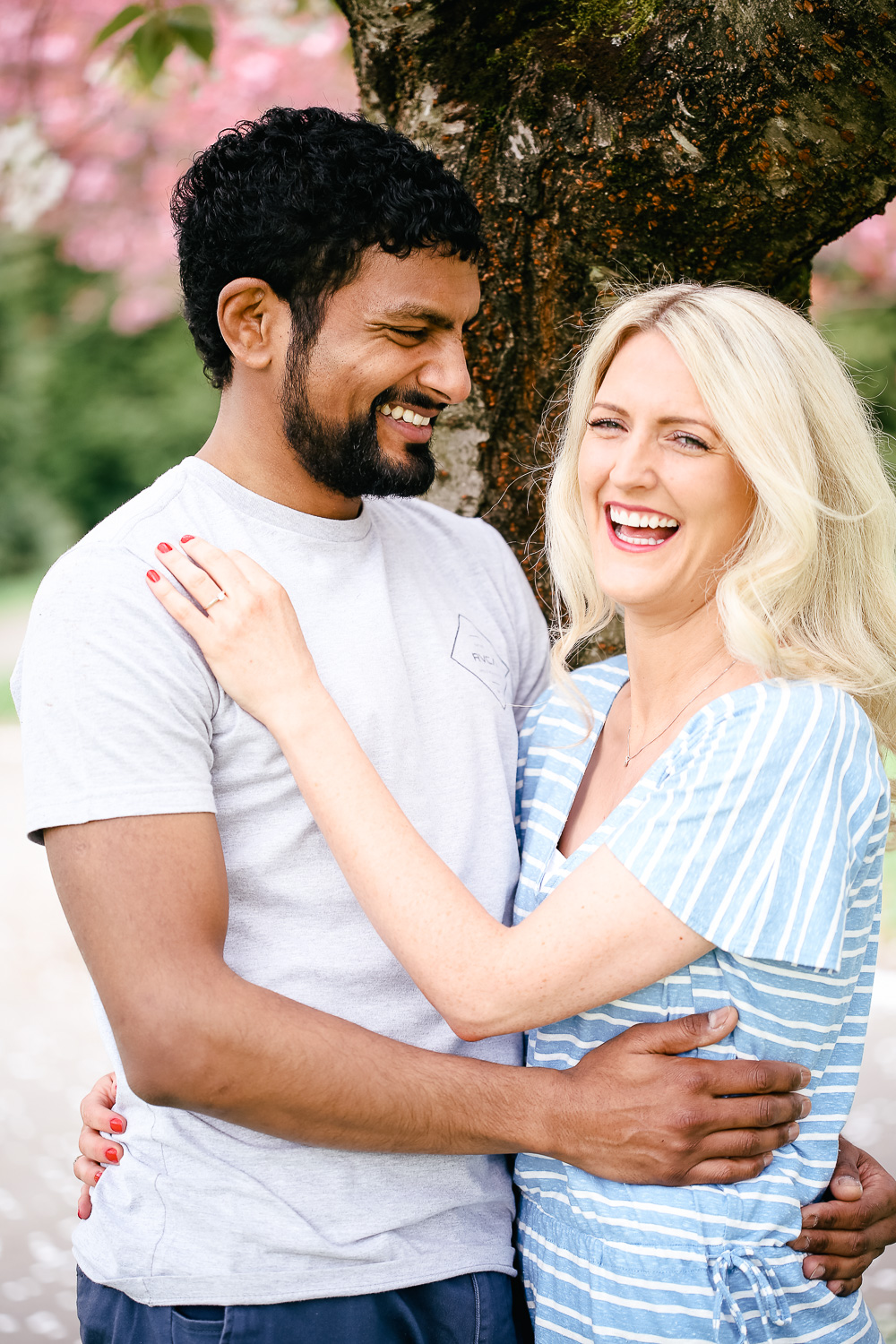 engagement portraits south wales - hannah timm photography