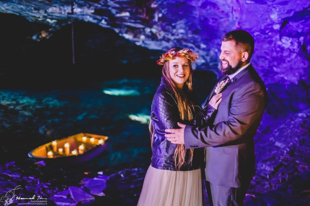 Carnglaze wedding