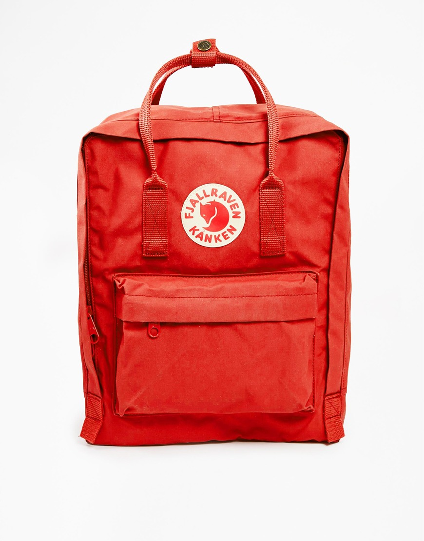 Fjallraven Kanken backpack, £65