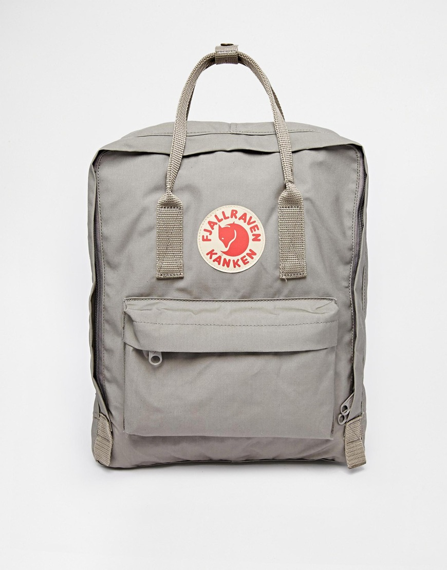 Fjallraven Kanken grey backpack, £65