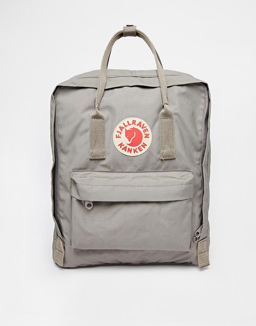 Fjallraven Kanken grey backpack, £65
