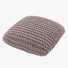 Habitat Pink rope cushion