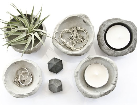 concrete forms by Pasinga Etsy