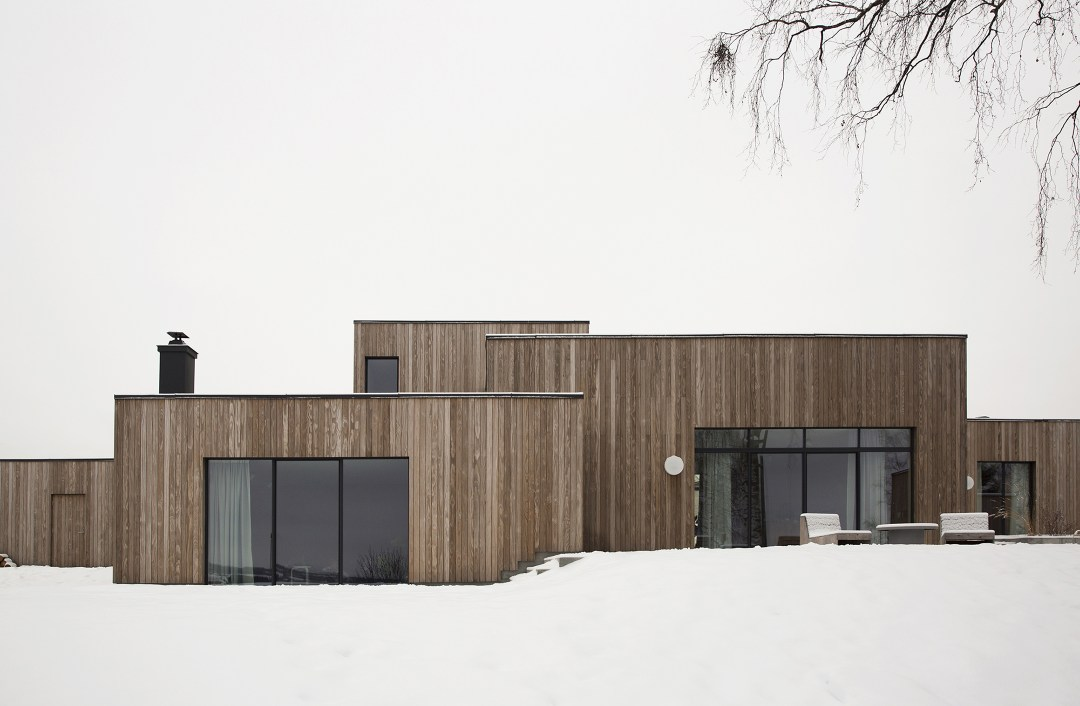 The Gjovik House A Minimalist Home In The Norwegian Forests
