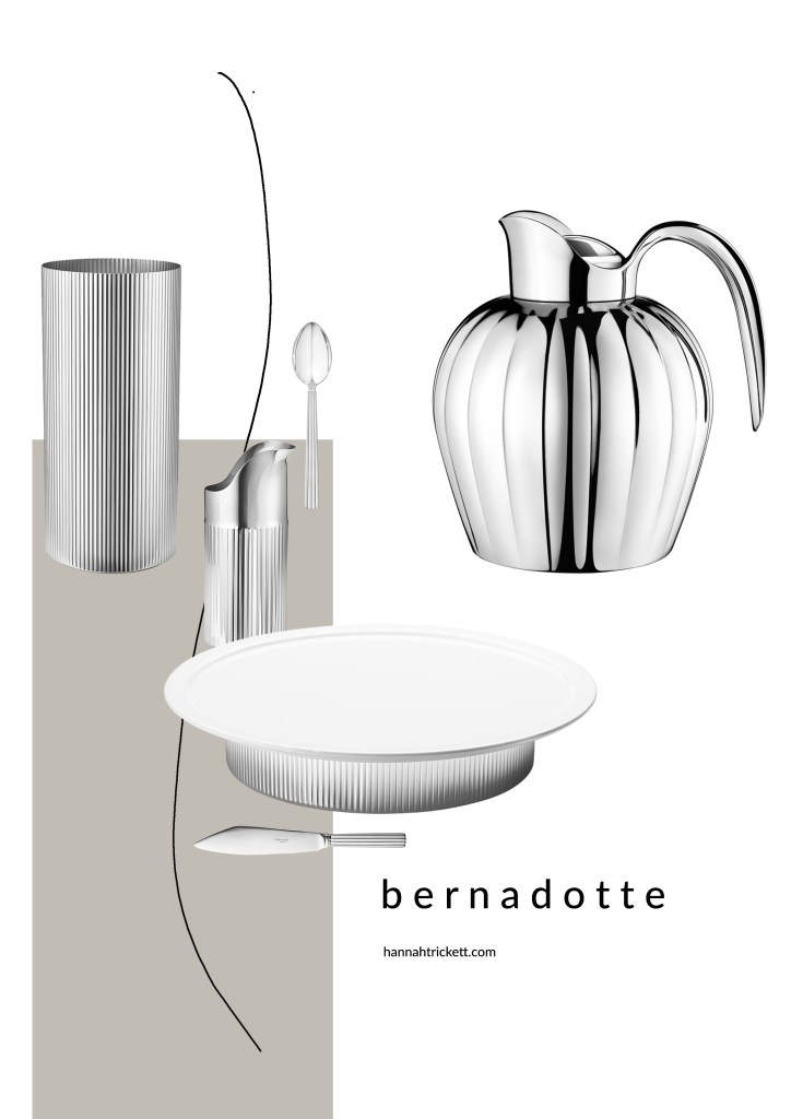 The Bernadotte collection a royal design with art deco elegance