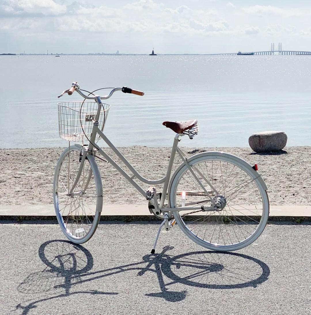 Scandinavian summer bike ride, A . Step through 7 BIKEID