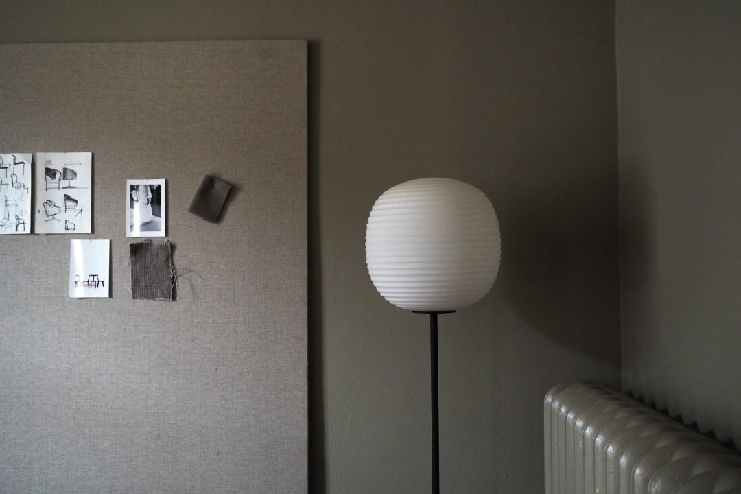 lantern floor lamp new works