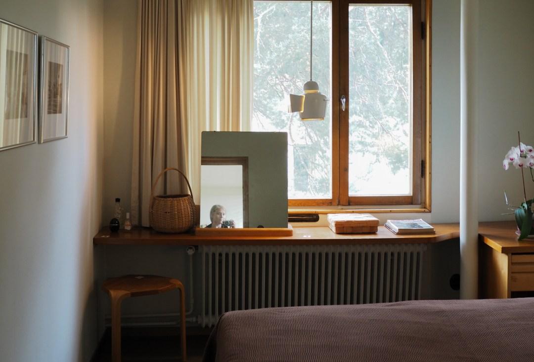 Alvar Aalto's guestroom