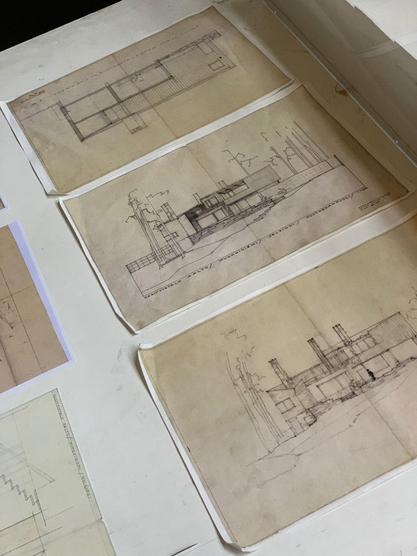 Drawings by Aalto
